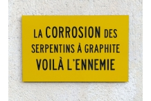 Corrosion des serpentins