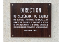 Direction du secrétariat