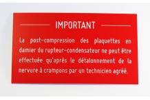 Post-compression